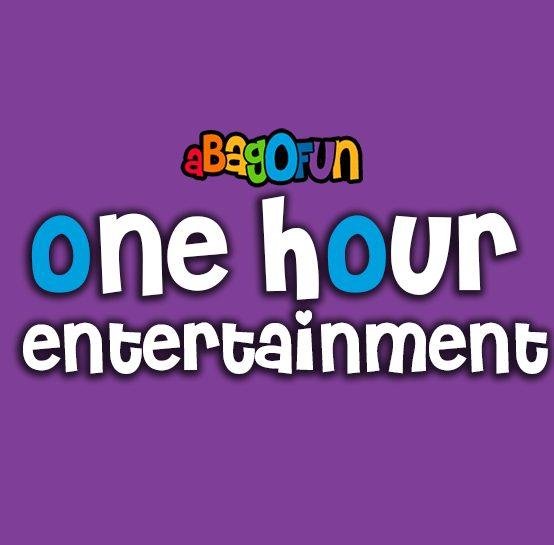 1 hour entertainment